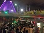 Grupo faz ato no Centro do Rio em defesa do governo Dilma