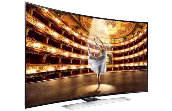 TV LED 4K com tela curva de 78 polegadas custa o mesmo que um SSD (Foto: Divulgação)