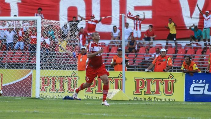 Neto Baiano, do CRB - CRB x CSA, no Rei Pelé (Foto: Ailton Cruz/Gazeta de Alagoas)