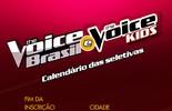 Inscrições para 'The Voice Brasil' e 'The Voice Kids' em Porto Alegre terminam nesta quarta, 27/4