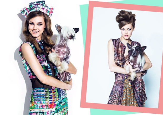 Lindsey Wixson para a Vogue Brasil de agosto de 2013 (Foto: Jacques Dequeker para a Vogue Brasil)