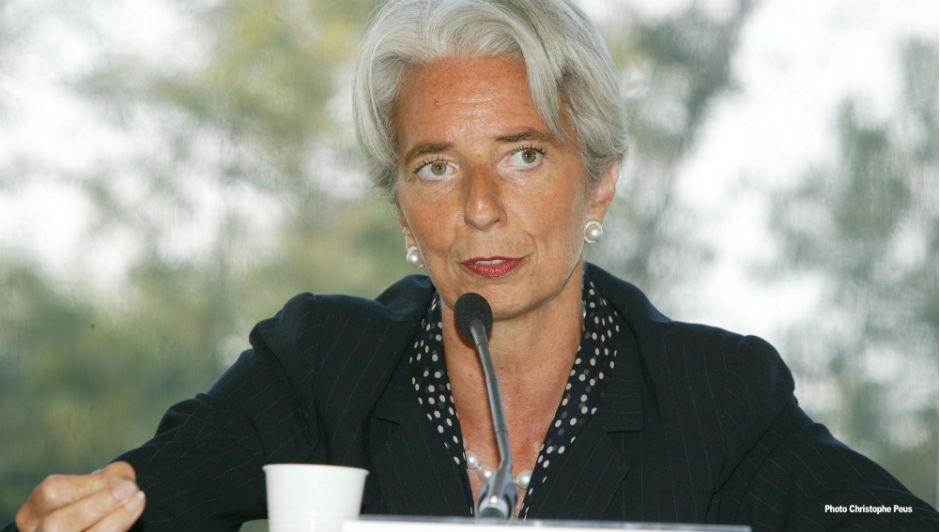 A diretora do Fundo Monetário Internacional (FMI) Christine Lagarde (Foto: MEDEF / Wikimedia Commons)