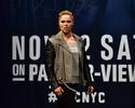 Confira as fotos da pesagem do UFC 205, com presenças de Ronda e Amanda