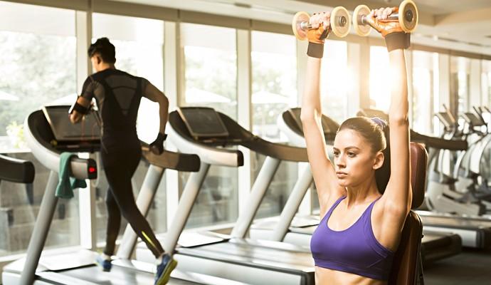 euatleta coluna gustavo musculação e corrida esteira (Foto: Getty Images)