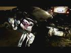 Duas pessoas morrem em colisão frontal entre carro e caminhão no RS