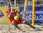 Praia da Jatiúca vai receber a primeira etapa da Copa Verão de Beach Soccer