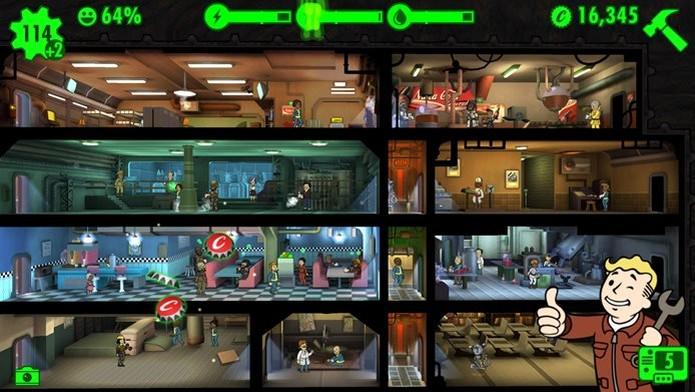 Fallout Shelter diverte pela quantidade de referências a Fallout 4 (Foto: Divulgação / Bethesda) (Foto: Fallout Shelter diverte pela quantidade de referências a Fallout 4 (Foto: Divulgação / Bethesda))