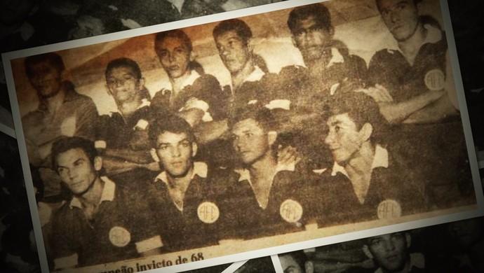 Alecrim 100 anos: campeão invicto em 1968 (Foto: Reprodução)