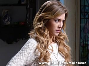 Sofia tenta jogar a culpa em Ben (Foto: Malhação / TV Globo)