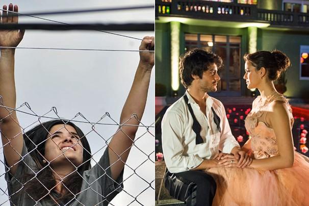 Quisque da Globo, em Copacabana, exibe final de Amor à Vida e clipe com as primeiras cenas de Em Família (Foto: Globo)
