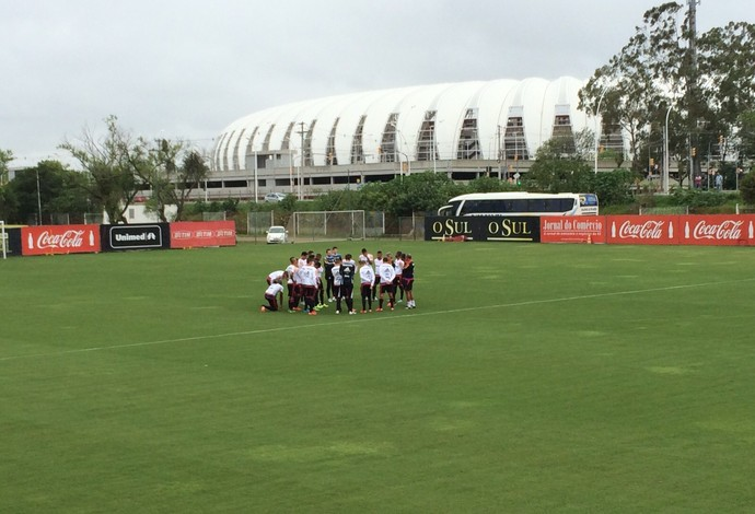 Flamengo Ct do Inter (Foto: Ivan Raupp)