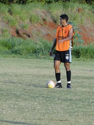 Hélio, zagueiro do Comercial (Foto: Gabriel Lopes / Comercial FC)