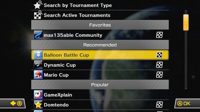 As recomendações da Nintendo ficam na parte de baixo (Foto: Reprodução/Murilo Molina)