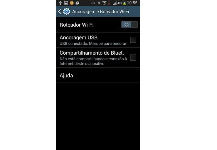 Escolha a opção do Wi-Fi para conectar (Foto: Reprodução/Thiago Barros) (Foto: Escolha a opção do Wi-Fi para conectar (Foto: Reprodução/Thiago Barros))