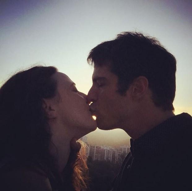 Paula Braum e Mateus Solano (Foto: Instagram / Reprodução)