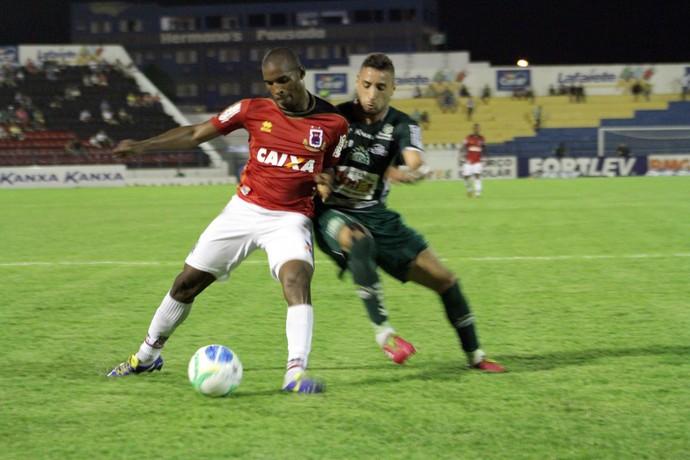 Adaílton Paraná Clube Icasa (Foto: Site oficial do Paraná Clube/Douglas Trevisan)