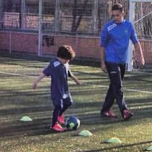 Enzo, filho do lateral Marcelo (Foto: Reprodução/Instagram)