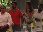 Nívea Stelmann tem dia de passeio em família em shopping no Rio