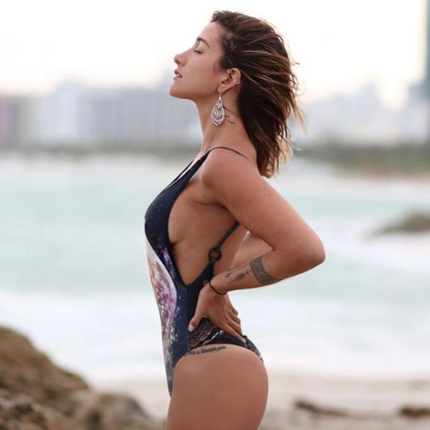 Gabriela Pugliesi maiô (Foto: Reprodução/Instagram)