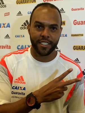 Alecsandro treino Flamengo (Foto: IVan Raupp)