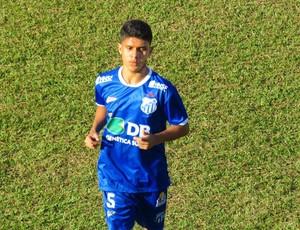Volante Yan Gomes, URT, Patos de Minas (Foto: Douglas David/Cabeça Esportes)