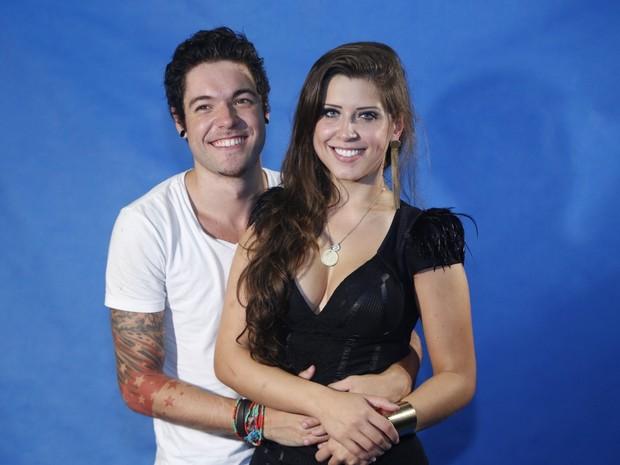 Nasser e Andressa, do 'BBB 13' (Foto: Roberto Filho e Alex Palarea/ Ag. News)