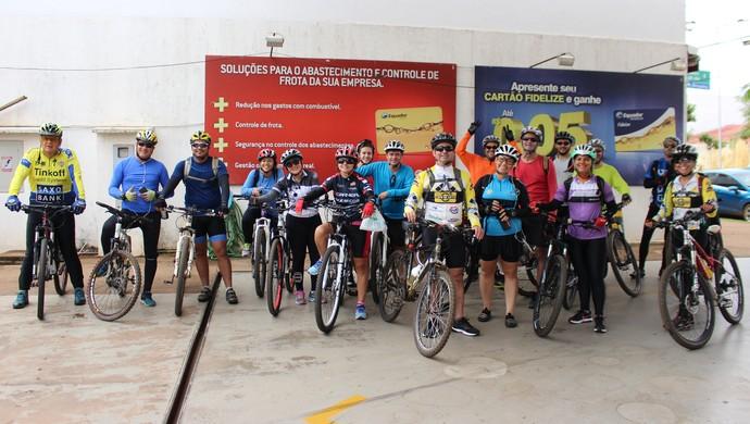 Pedal Capa da Gaita, em Porto Velho (Foto: Daniele Lira)