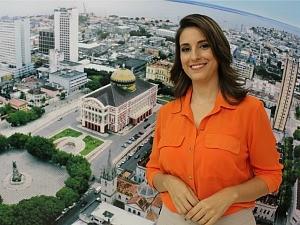 Luana Borba é a nova apresentadora do Bom Dia Amazônia (Foto: Katiúscia Monteiro/ Rede Amazônica)