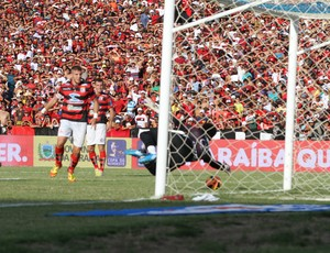 Campinense 2 x 0 ASA, final da Copa do Nordeste no Estádio Amigão, em Campina Grande (Foto: Leonardo Silva / Jornal da Paraíba)