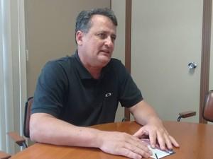 Delegado da Receita Federal em Valadares, Márcio dos Santos Roque. (Foto: Diego Souza/G1)