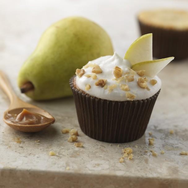 Cupcake de pera com nozes (Foto: Divulgação)