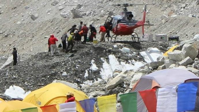 Resgate Monte Everest Rosier Alexandre (Foto: Rosier Alexandre/Arquivo Pessoal)