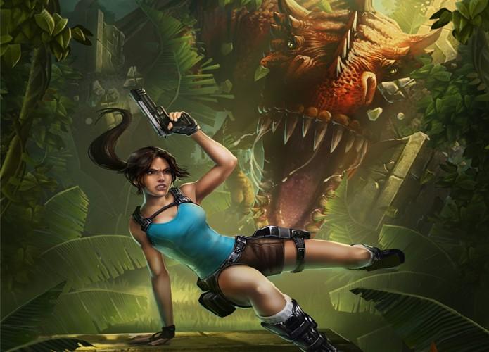 Lara Croft entra na onda dos jogos de corrida infinita com Tomb Raider: Relic Run (Foto: Divulgação)