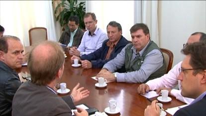 Reunião sobre a BR-470, em Bento Gonçalves
