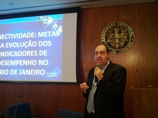 João Batista de rezende, presidente da Anatel (Foto: Lilian Quaino/G1)