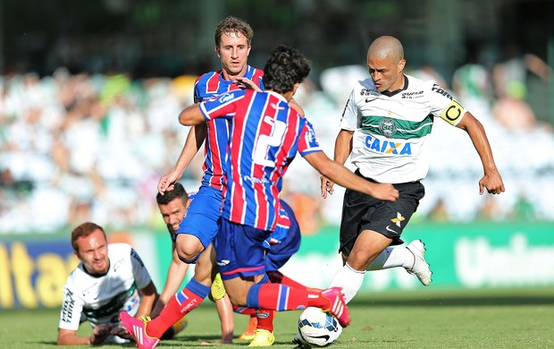 Coritiba x Bahia, Alex (Foto: Heuler Andrey / Getty Images)