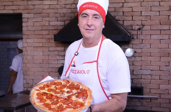 Guerrinha pizza pizzaiolo Mogi das Cruzes (Foto: Cairo Oliveira)