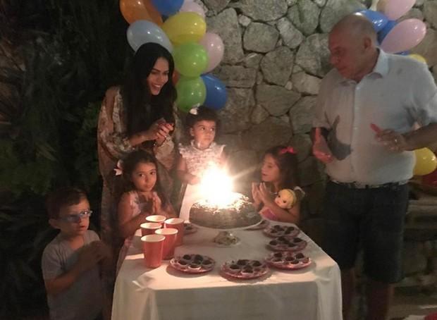 Daniela Albuquerque e Amílcare Dallevo celebram aniversário da filha (Foto: Reprodução / Instagram)