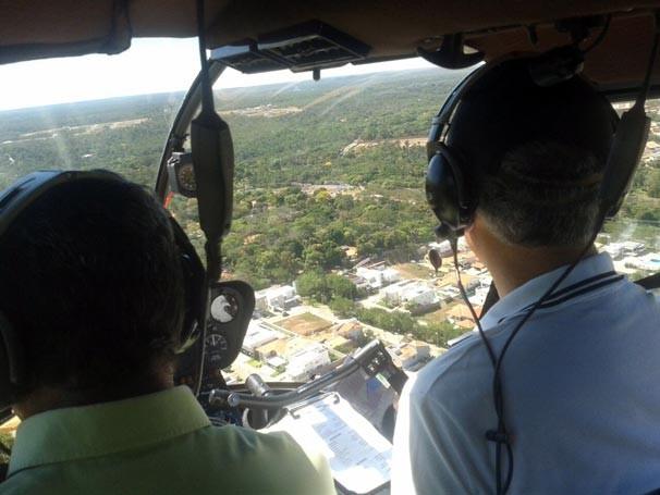 Telespectador pode conferir o desenvolvimento da cidade a partir de um ângulo diferente (Foto: Katylenin França/TV Clube)