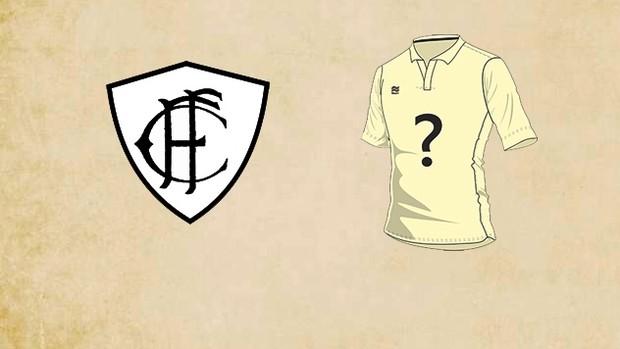 Figueirense terceiro uniforme 2013 (Foto: Divulgação/Figueirense FC)