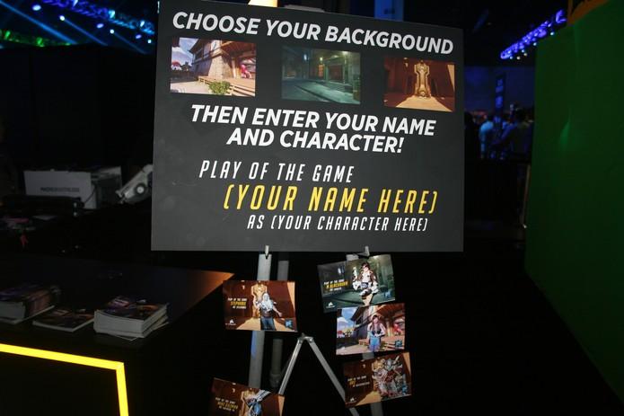 BlizzCon permite te colocar dentro do jogo (Foto: Felipe Vinha)