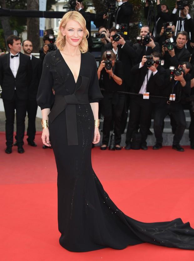 Cate Blanchett no Festival de Cannes (Foto: Getty Images)