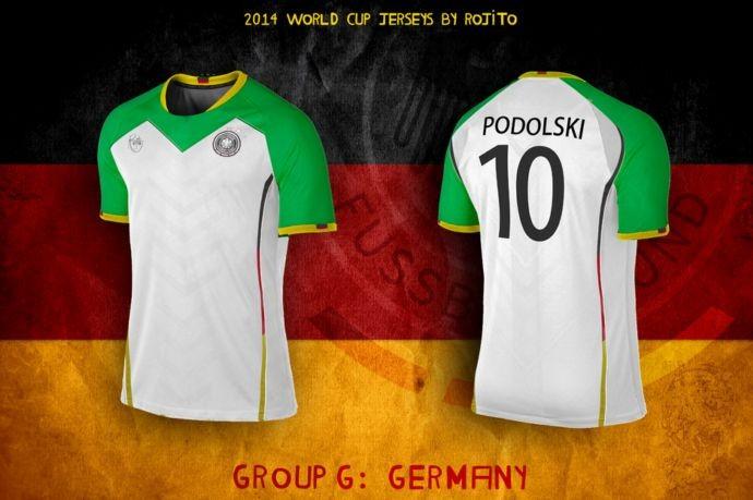 Blog da Copa - design camisa da Alemanha