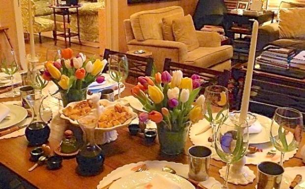 40 forever - mesa de jantar4 (Foto: Reproduo / 40 Forever)