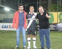 Aos 37 anos, Felipe volta ao Vasco para atuar na equipe de futebol 7