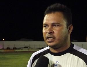 Marcos Manoel, técnico do Palmeira-RN (Foto: Tiago Menezes/GLOBOESPORTE.COM)