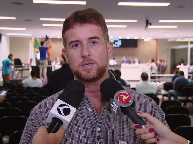 Marco Aurélio Lobão (Foto: TV Integração/Reprodução)