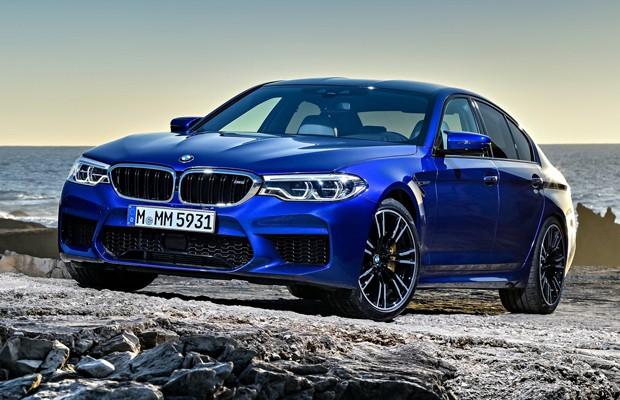 BMW M5 de nova geração tem 600 cv e tração integral (Foto: Divulgação)