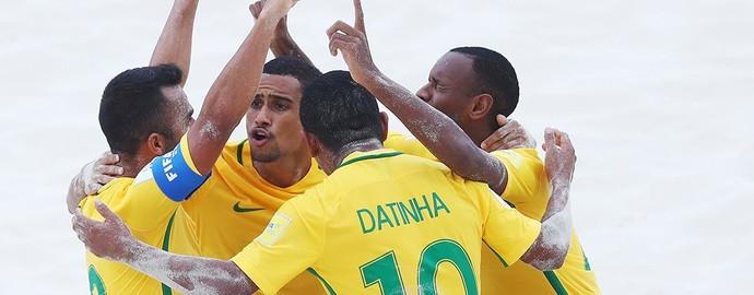 Seleção brasileira de futebol de areia vence Portugal nas quartas de final da Copa do Mundo das Bahamas - Mundial Brasil (Foto: Divulgação/BSWW)
