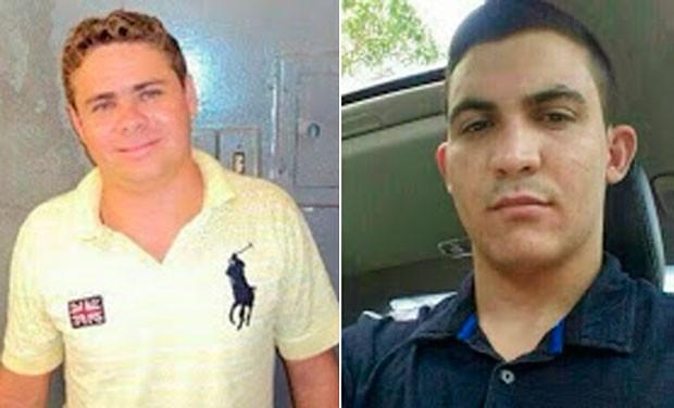 Suspeitos foram identificados como Galeguinho e Antonio Neto (Foto: Divulgação/Polícia Militar do RN)